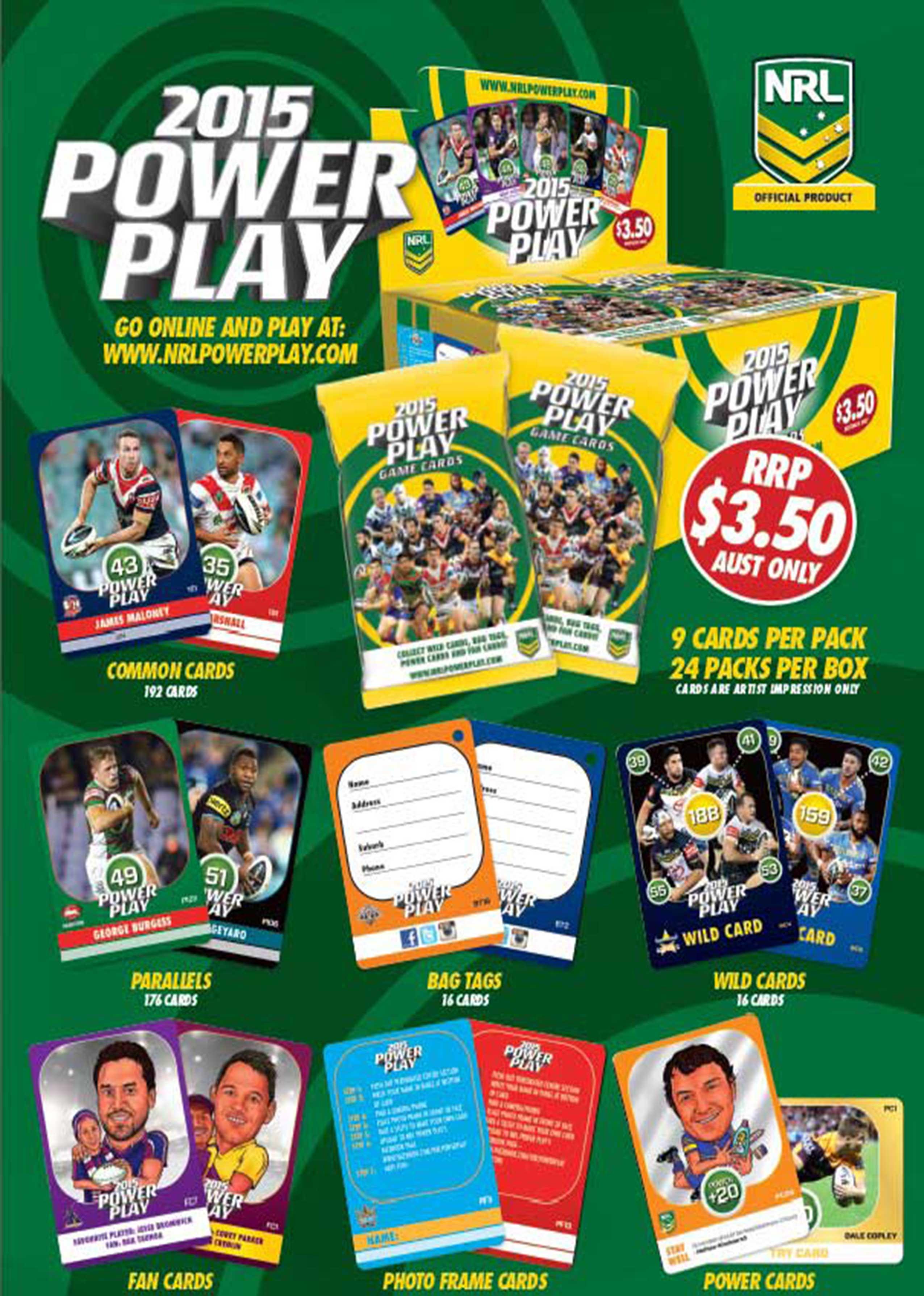 2015 NRL Power Play
