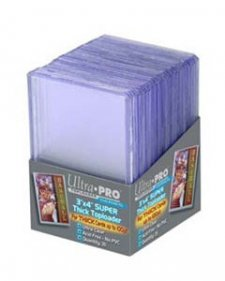 ULTRA PRO Top Loader – 3 x 4 Clear (100pt)