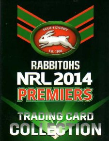 2014 NRL Premiers Rabbitohs Green 25-Card Box Set