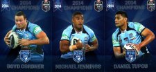 2014 State of Origin Series Champions 3-Card Team Set Roosters