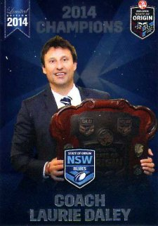 2014 State of Origin Series Champions Laurie Daley Raiders