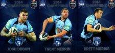 2014 State of Origin Series Champions 3-Card Team Set Dragons