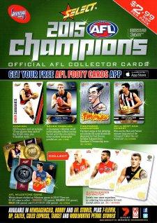2015 AFL Champions