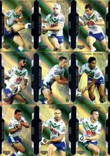 2014 NRL Elite 9-Card Gold Parallel Team Set Canberra Raiders