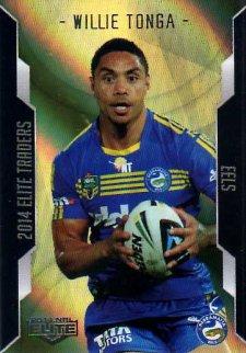 2014 NRL Elite Gold Parallel #SP81 Willie Tonga Eels