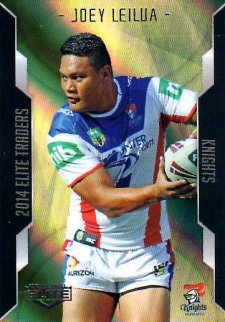 2014 NRL Elite Gold Parallel #SP68 Joey Lailua Knights