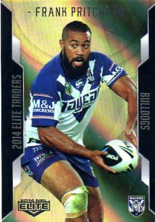 2014 NRL Elite Gold Parallel #SP11 Frank Pritchard Bulldogs