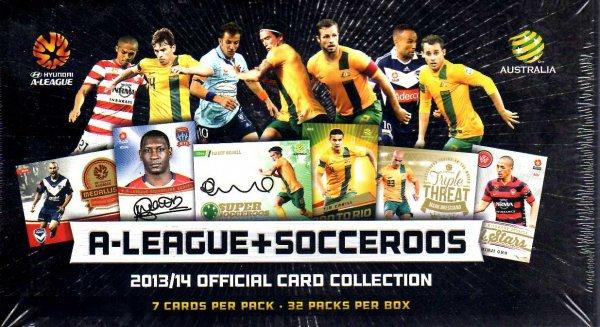 2013/14 A-League + Socceroos Factory Sealed Box