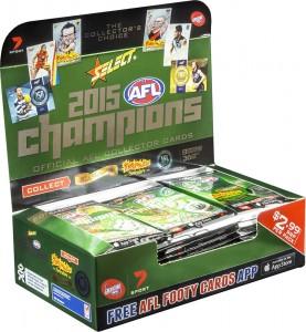 2015 AFL Champions Box