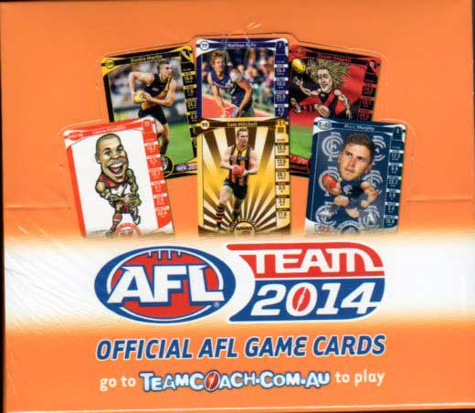 2014 AFL Teamcoach Box