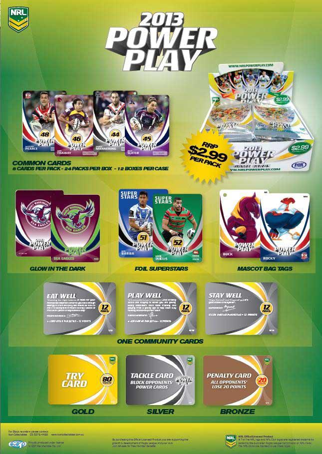 2013 NRL Power Play