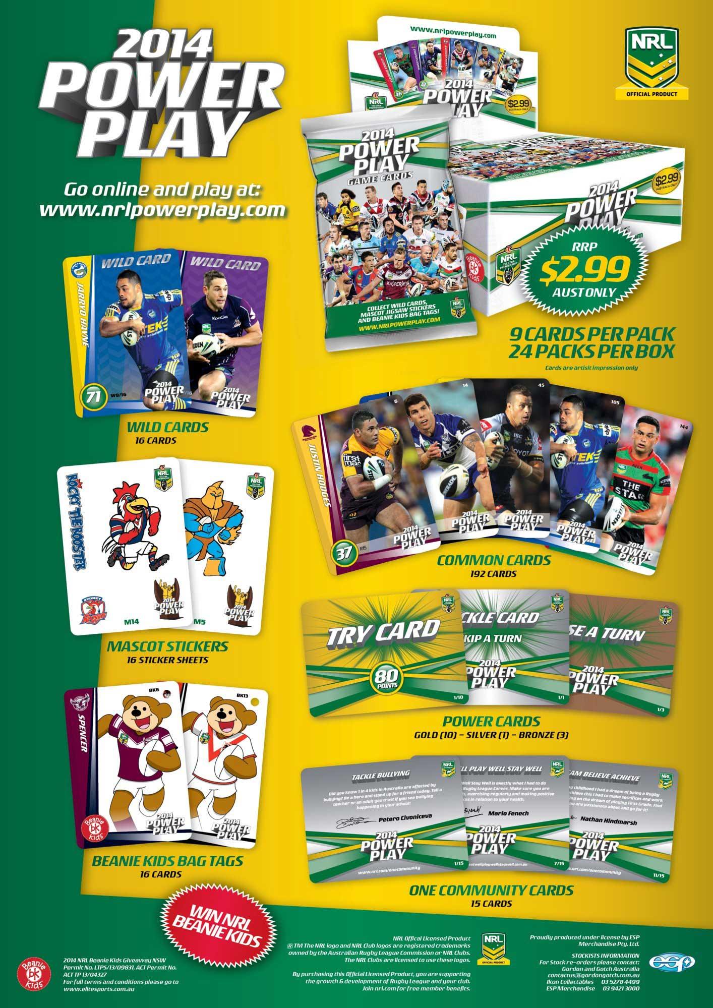 2014 NRL Power Play