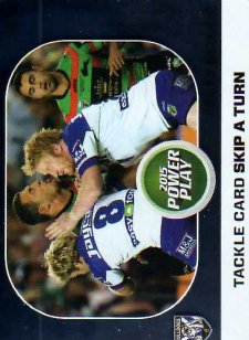 2015 NRL Power Play Power Card #PC10 James Graham Bulldogs