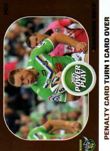 2015 NRL Power Play Power Card #PC11 Shannon Boyd Raiders