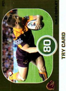 2015 NRL Power Play Power Card #PC1 Dale Copley Broncos