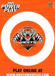 2015 NRL Power Play Photo Frame #16 Tigers
