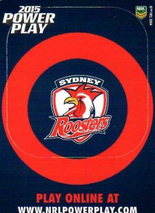 2015 NRL Power Play Photo Frame #14 Roosters