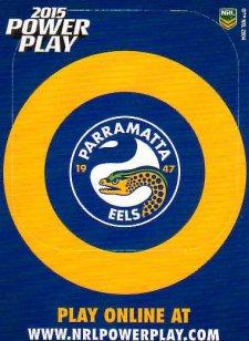 2015 NRL Power Play Photo Frame #9 Eels
