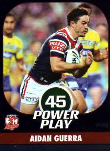 2015 NRL Power Play Parallel #146 Aidan Guerra Roosters