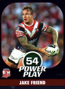 2015 NRL Power Play Parallel #145 Jake Friend Roosters