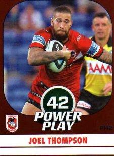 2015 NRL Power Play Parallel #142 Joel Thompson Dragons
