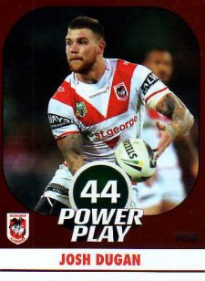 2015 NRL Power Play Parallel #136 Josh Dugan Dragons