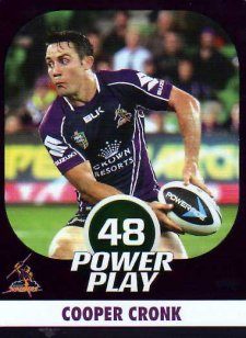 2015 NRL Power Play Parallel #70 Cooper Cronk Storm