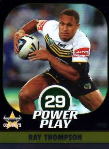 2015 NRL Power Play Parallel #42 Ray Thompson Cowboys