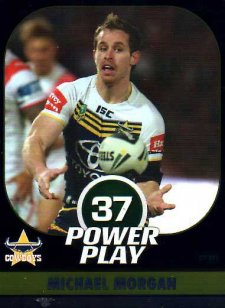 2015 NRL Power Play Parallel #39 Michael Morgan Cowboys
