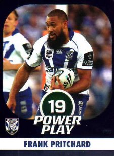 2015 NRL Power Play Parallel #19 Frank Pritchard Bulldogs