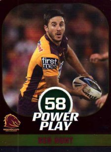 2015 NRL Power Play Parallel #5 Ben Hunt Broncos