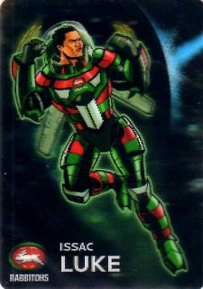 2015 NRL Traders Album Galactic Heroes #PGH13 Issac Luke Rabbitohs
