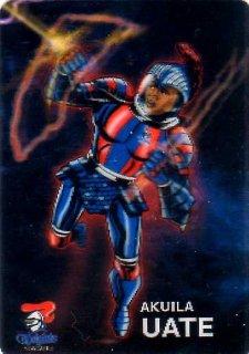 2015 NRL Traders Album Galactic Heroes #PGH9 Akuila Uate Knights