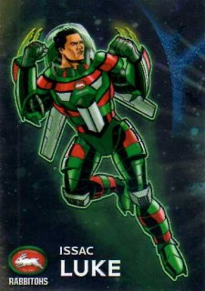2015 NRL Traders Galactic Heroes #GH13 Issac Luke Rabbitohs