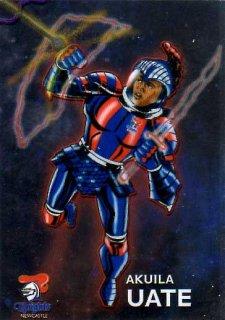 2015 NRL Traders Galactic Heroes #GH9 Akuila Uate Knights