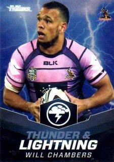 2015 NRL Traders Thunder & Lightning #TL1Will Chambers Storm