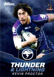 2015 NRL Traders Thunder & Lightning #TL13 Kevin Proctor Storm