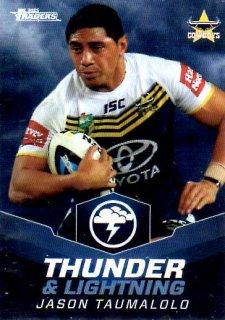 2015 NRL Traders Thunder & Lightning #TL7 Jason Taumalolo Cowboys