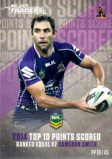 2015 NRL Traders Pieces of the Puzzle #PP16 Cameron Smith Storm