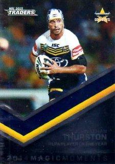 2015 NRL Traders Season to Remember #STR28 Johnathan Thurston Cowboys