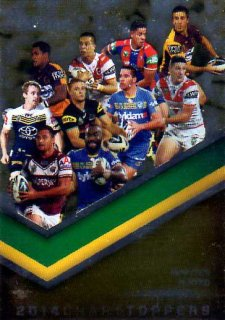 2015 NRL Traders Season to Remember #STR5 Minutes Played