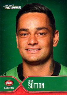 2015 NRL Traders Faces of the Game #FOTG35 John Sutton Rabbitohs