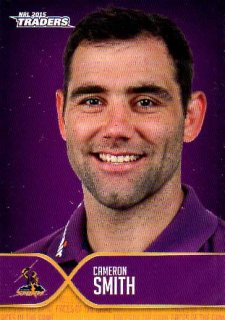 2015 NRL Traders Faces of the Game #FOTG21 Cameron Smith Storm