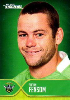 2015 NRL Traders Faces of the Game #FOTG8 Shaun Fensom Raiders