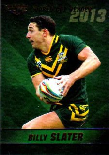 2014 NRL Elite World Cup Heroes #WCH20 Billy Slater Storm Australia