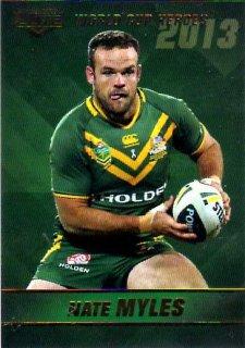 2014 NRL Elite World Cup Heroes #WCH16 Nate Myles Titans Australia