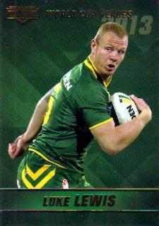 2014 NRL Elite World Cup Heroes #WCH13 Luke Lewis Sharks Australia