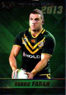 2014 NRL Elite World Cup Heroes #WCH8 Robbie Farah Tigers Australia