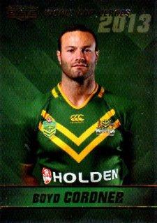 2014 NRL Elite World Cup Heroes #WCH6 Boyd Cordner Roosters Australia