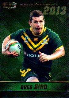 2014 NRL Elite World Cup Heroes #WCH3 Greg Bird Titans Australia